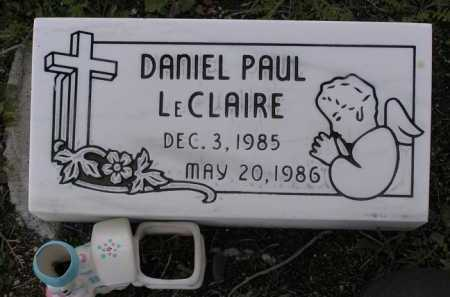 LECLAIRE, DANIEL PAUL - Yavapai County, Arizona | DANIEL PAUL LECLAIRE - Arizona Gravestone Photos