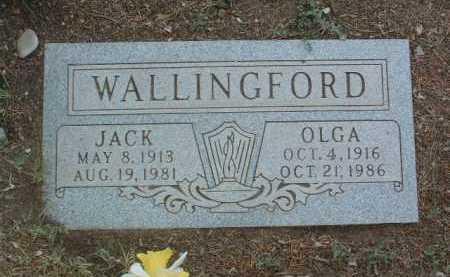 WALLINGFORD, OLGA K. - Yavapai County, Arizona   OLGA K. WALLINGFORD - Arizona Gravestone Photos