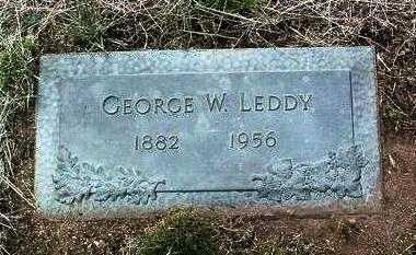 LEDDY, GEORGE WASHINGTON - Yavapai County, Arizona | GEORGE WASHINGTON LEDDY - Arizona Gravestone Photos