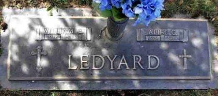 LEDYARD, WILLIAM EARL - Yavapai County, Arizona | WILLIAM EARL LEDYARD - Arizona Gravestone Photos