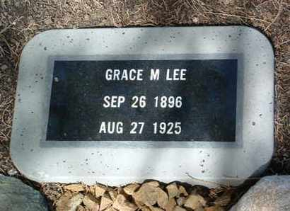 LEE, GRACE M. - Yavapai County, Arizona | GRACE M. LEE - Arizona Gravestone Photos