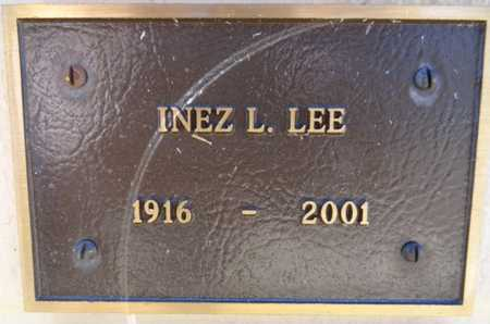 LOCKHART LEE, INEZ L. - Yavapai County, Arizona | INEZ L. LOCKHART LEE - Arizona Gravestone Photos