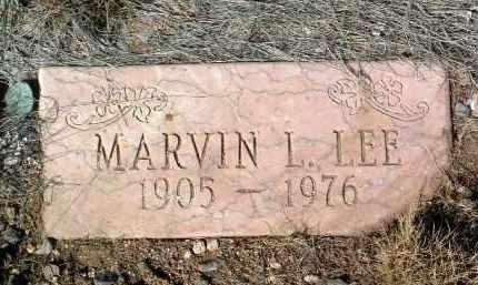 LEE, MARVIN LESTER - Yavapai County, Arizona | MARVIN LESTER LEE - Arizona Gravestone Photos