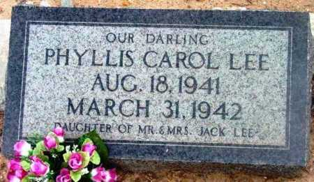 LEE, PHYLLIS CAROL - Yavapai County, Arizona | PHYLLIS CAROL LEE - Arizona Gravestone Photos