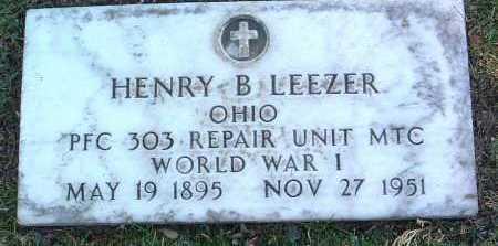 LEEZER, HENRY BARNETT - Yavapai County, Arizona   HENRY BARNETT LEEZER - Arizona Gravestone Photos