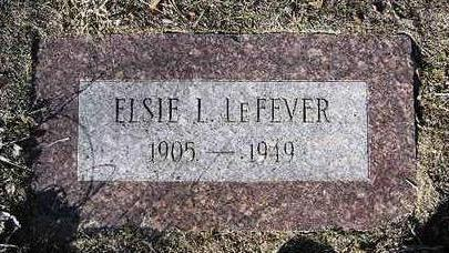LEFEVER, ELSIE LOU - Yavapai County, Arizona   ELSIE LOU LEFEVER - Arizona Gravestone Photos