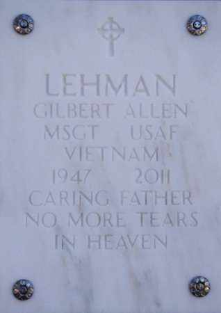 LEHMAN, GILBERT ALLEN - Yavapai County, Arizona | GILBERT ALLEN LEHMAN - Arizona Gravestone Photos