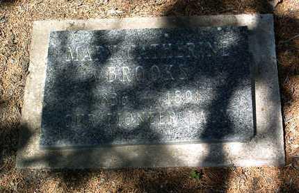BROOKS, MARY CATHERINE - Yavapai County, Arizona   MARY CATHERINE BROOKS - Arizona Gravestone Photos