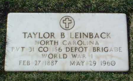 LEINBACK, TAYLOR B. - Yavapai County, Arizona | TAYLOR B. LEINBACK - Arizona Gravestone Photos