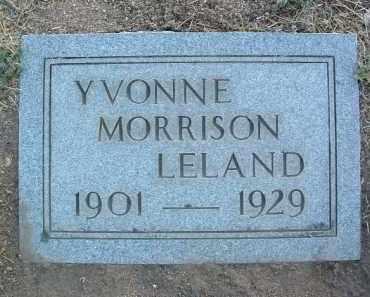 MORRISON LELAND, Y. - Yavapai County, Arizona | Y. MORRISON LELAND - Arizona Gravestone Photos