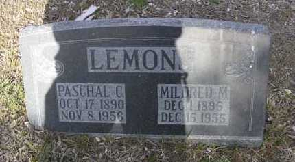 LEMONS, MILDRED M. - Yavapai County, Arizona | MILDRED M. LEMONS - Arizona Gravestone Photos