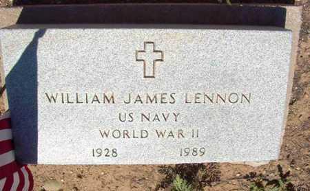 LENNON, WILLIAM JAMES - Yavapai County, Arizona | WILLIAM JAMES LENNON - Arizona Gravestone Photos