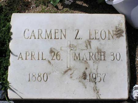 LEON, CARMEN Z. - Yavapai County, Arizona | CARMEN Z. LEON - Arizona Gravestone Photos