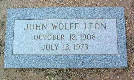 LEON, JOHN WOLFE - Yavapai County, Arizona | JOHN WOLFE LEON - Arizona Gravestone Photos