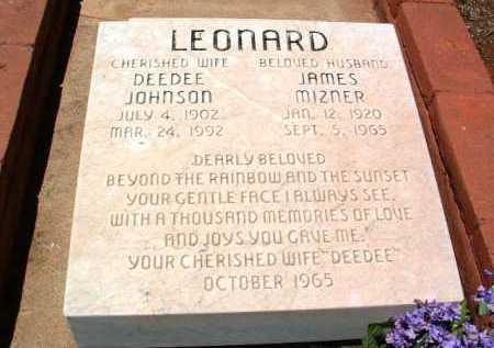 LEONARD, DORIS (DEEDEE) - Yavapai County, Arizona | DORIS (DEEDEE) LEONARD - Arizona Gravestone Photos