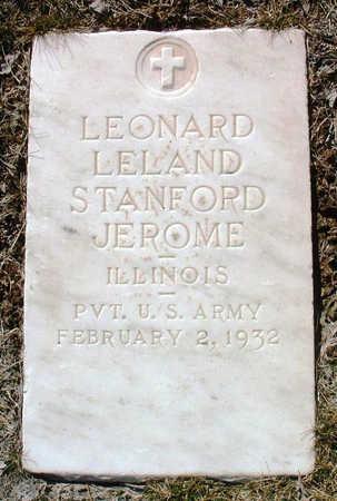 JEROME, LEONARD LELAND STAFORD - Yavapai County, Arizona | LEONARD LELAND STAFORD JEROME - Arizona Gravestone Photos