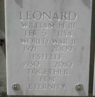 LEONARD, WILLIAM HENRY, III - Yavapai County, Arizona | WILLIAM HENRY, III LEONARD - Arizona Gravestone Photos