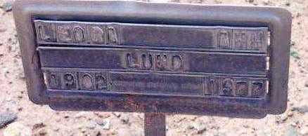 LUND, LEORA ANN - Yavapai County, Arizona | LEORA ANN LUND - Arizona Gravestone Photos