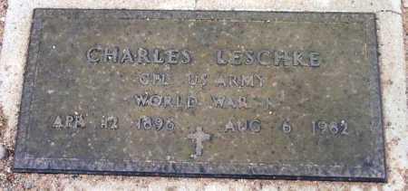 LESCHKE, CHARLES - Yavapai County, Arizona | CHARLES LESCHKE - Arizona Gravestone Photos