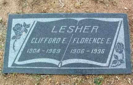 LESHER, CLIFFORD EUGENE - Yavapai County, Arizona | CLIFFORD EUGENE LESHER - Arizona Gravestone Photos