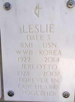 LESLIE, DALE S. - Yavapai County, Arizona | DALE S. LESLIE - Arizona Gravestone Photos