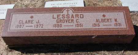 LESSARD, GROVER CLINGMAN - Yavapai County, Arizona | GROVER CLINGMAN LESSARD - Arizona Gravestone Photos