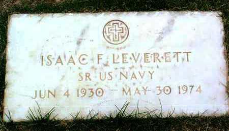 LEVERETT, ISAAC F. - Yavapai County, Arizona | ISAAC F. LEVERETT - Arizona Gravestone Photos