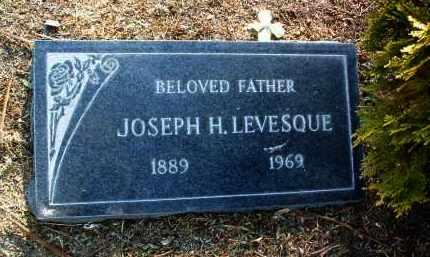 LEVESQUE, JOSEPH H. - Yavapai County, Arizona   JOSEPH H. LEVESQUE - Arizona Gravestone Photos