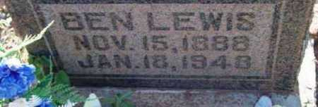 LEWIS, BEN - Yavapai County, Arizona   BEN LEWIS - Arizona Gravestone Photos