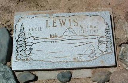 LEWIS, WILMA R. - Yavapai County, Arizona | WILMA R. LEWIS - Arizona Gravestone Photos