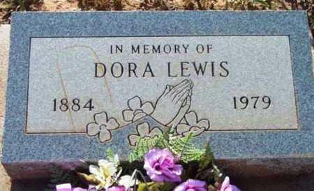 LEWIS, DORA - Yavapai County, Arizona   DORA LEWIS - Arizona Gravestone Photos