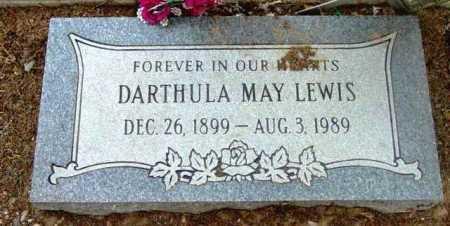 LEWIS, DARTHULA MAY - Yavapai County, Arizona   DARTHULA MAY LEWIS - Arizona Gravestone Photos