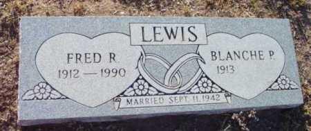 LEWIS, BLANCHE FREDERICA - Yavapai County, Arizona | BLANCHE FREDERICA LEWIS - Arizona Gravestone Photos