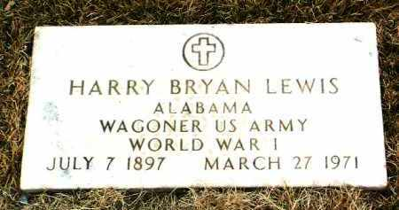 LEWIS, HARRY BRYAN - Yavapai County, Arizona | HARRY BRYAN LEWIS - Arizona Gravestone Photos