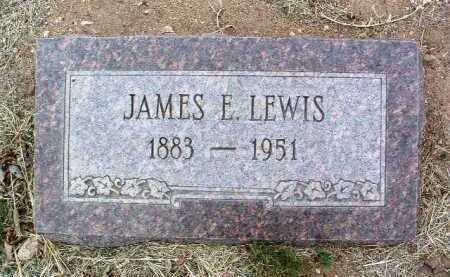 LEWIS, JAMES EARL - Yavapai County, Arizona | JAMES EARL LEWIS - Arizona Gravestone Photos