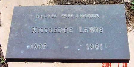 LEWIS, KETTRIDGE - Yavapai County, Arizona | KETTRIDGE LEWIS - Arizona Gravestone Photos