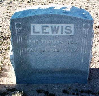 LEWIS, THOMAS COOPER - Yavapai County, Arizona | THOMAS COOPER LEWIS - Arizona Gravestone Photos
