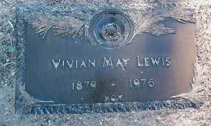 LEWIS, VIVIAN MAY - Yavapai County, Arizona | VIVIAN MAY LEWIS - Arizona Gravestone Photos