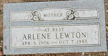 HERMAN LEWTON, ARLENE - Yavapai County, Arizona   ARLENE HERMAN LEWTON - Arizona Gravestone Photos
