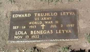 LEYVA, EDWARD TRUJILLO - Yavapai County, Arizona | EDWARD TRUJILLO LEYVA - Arizona Gravestone Photos
