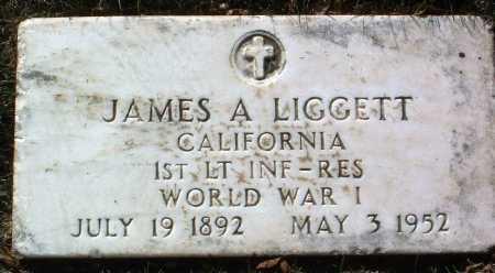LIGGETT, JAMES A. - Yavapai County, Arizona | JAMES A. LIGGETT - Arizona Gravestone Photos