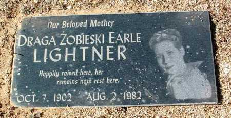 LIGHHTNER, DRAGA ZOBIESKI EARL - Yavapai County, Arizona | DRAGA ZOBIESKI EARL LIGHHTNER - Arizona Gravestone Photos