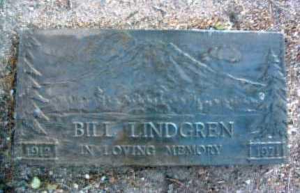 LINDGREN, WILBUR H. (BILL) - Yavapai County, Arizona   WILBUR H. (BILL) LINDGREN - Arizona Gravestone Photos