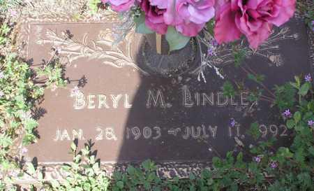 LINDLEY, BERYL MAE - Yavapai County, Arizona   BERYL MAE LINDLEY - Arizona Gravestone Photos