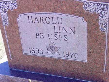 LINN, HAROLD - Yavapai County, Arizona | HAROLD LINN - Arizona Gravestone Photos