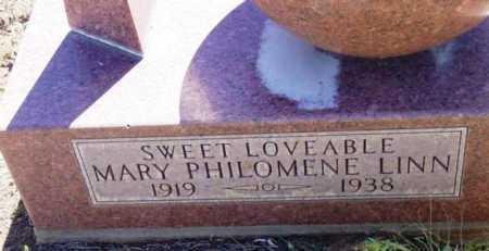 LINN, MARY PHILOMENE - Yavapai County, Arizona | MARY PHILOMENE LINN - Arizona Gravestone Photos