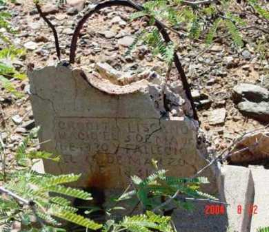 LISCANO, CRUZ - Yavapai County, Arizona | CRUZ LISCANO - Arizona Gravestone Photos