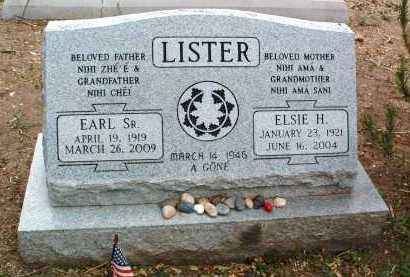 LISTER, ELSIE H. - Yavapai County, Arizona | ELSIE H. LISTER - Arizona Gravestone Photos