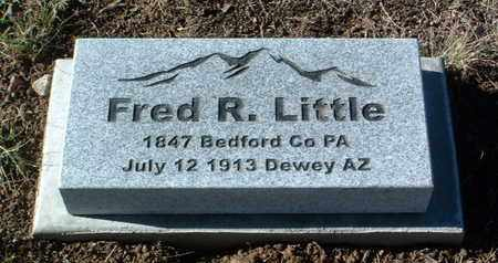 LITTLE, FRED R. - Yavapai County, Arizona | FRED R. LITTLE - Arizona Gravestone Photos