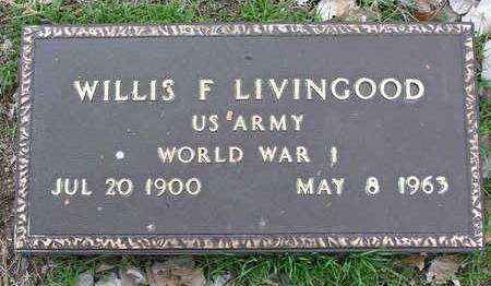 LIVINGOOD, WILLIS F. - Yavapai County, Arizona | WILLIS F. LIVINGOOD - Arizona Gravestone Photos